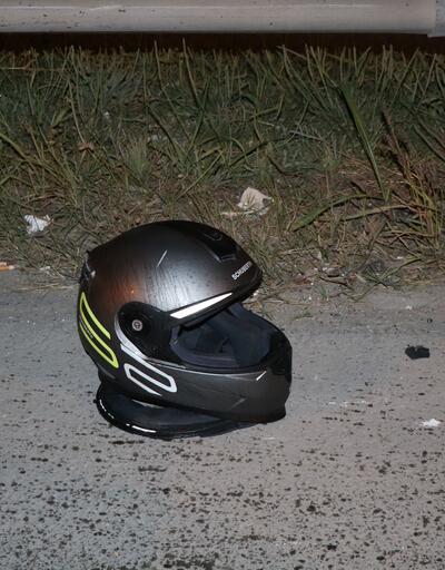 İstanbul'da korkunç kaza... Ağabeyinin kaskına sarılıp ağladı