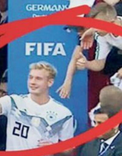 Mağlubiyet selfie'si Almanları kızdırdı
