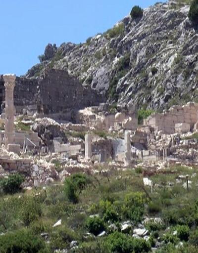Sagalassos Antik Kenti tarihi dokusuyla görenleri büyülüyor