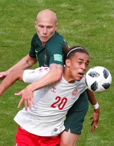 Danimarkalı futbolcu Danimarka'nın kabusu oldu!