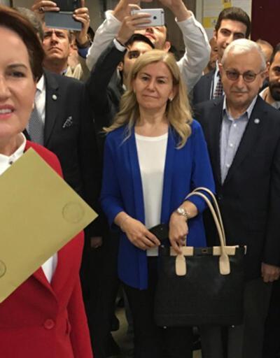 Akşener'in sandığından Erdoğan çıktı