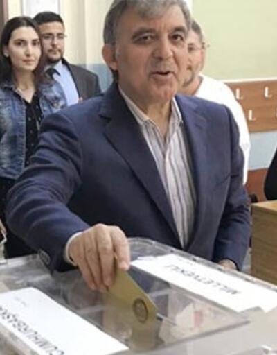 Abdullah Gül'ün sandığından Cumhurbaşkanı Erdoğan birinci çıktı