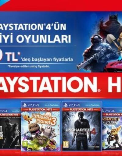 PlayStation Hits ile oyunlar uygun fiyata satılacak!