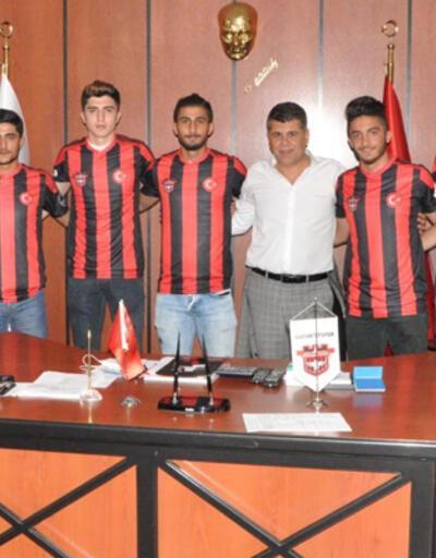 Gaziantepspor 9 futbolcusuyla sözleşme yeniledi