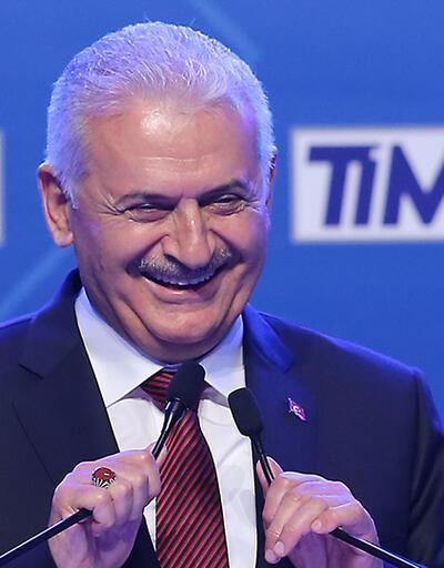Başbakan Yıldırım'dan ihracatçılara seçim esprisi: 'Biz dükkanı kapattık'
