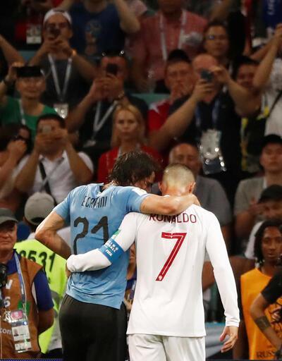 Ronaldo'dan Cavani'ye jest