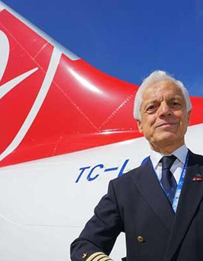 THY'nin 45 yıllık pilotu emekli oldu