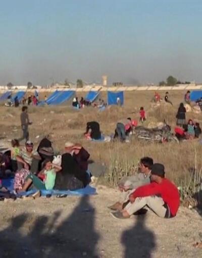 Sınır bölgesine kaçanlar 320 bini aştı