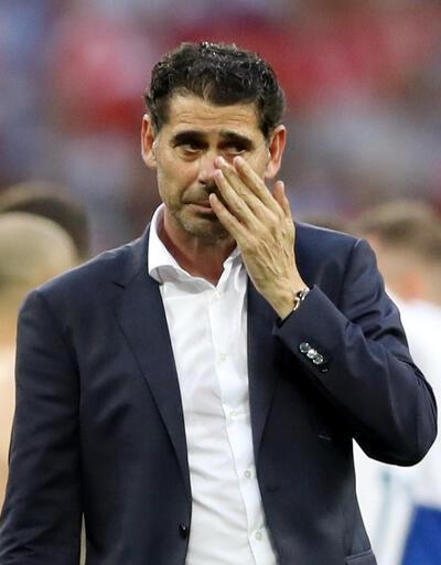 Son dakika Fernando Hierro istifa etti