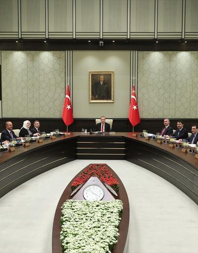Cumhurbaşkanlığı Kabine Toplantısı yapıldı