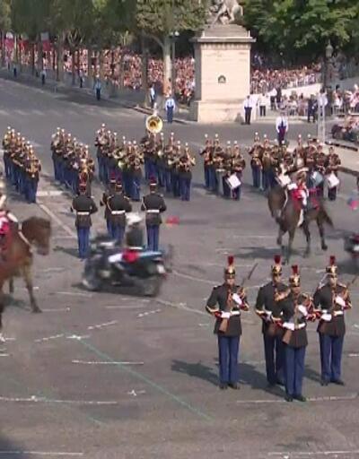 Fransa'nın ulusal bayramı 'Bastille Günü' kutlanıyor