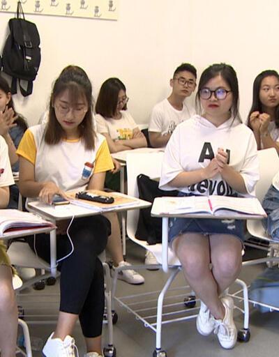 Türkçe'yi anadil gibi konuşuyorlar: Çinli öğrenciler mezun oldu