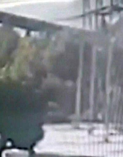 Yatağan Termik Santrali'ndeki çökme anı kamerada