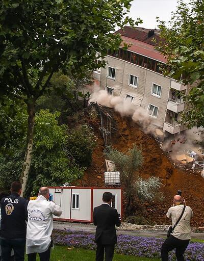 İşte binanın çökme anı
