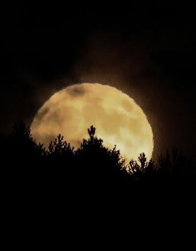 'Kanlı Ay' tutulması başladı