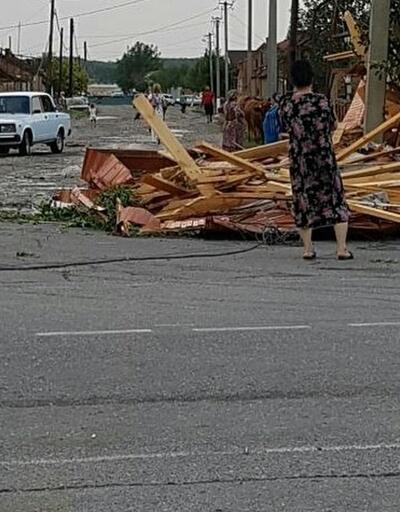 Rusya'da şiddetli fırtına: 9 yaralı