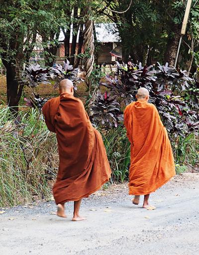Budist rahibe ilginç suçlama