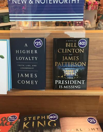 Bill Clinton'dan gerilim romanı: Başkan kayıp!
