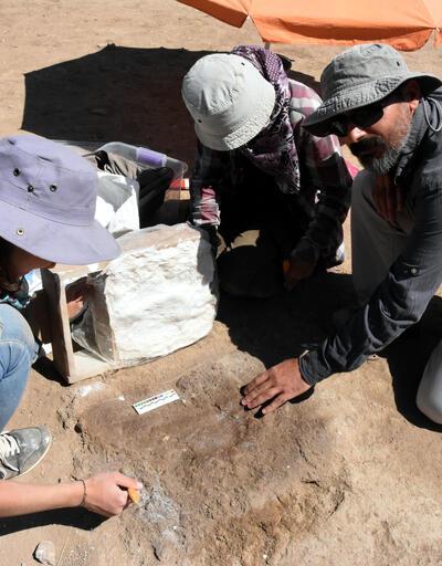 Van'da Urartulara ait ayak izi bulundu