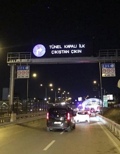 Son dakika... Avrasya Tüneli açıldı