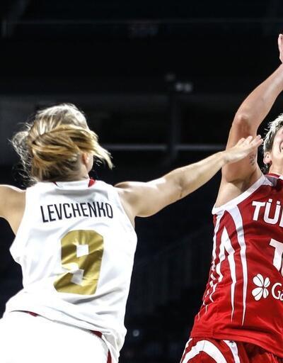 Türkiye 70-61 Rusya | Kadınlar basketbol hazırlık maçı