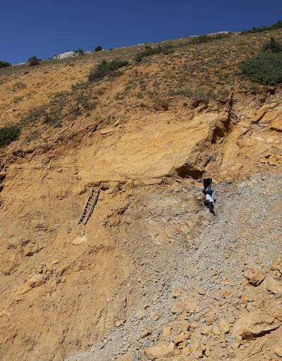 """Köylülerin yıllardır yaktığı madde """"doğal kehribar"""" çıktı"""
