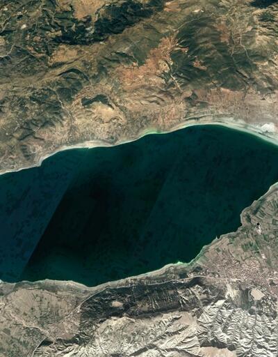 Burdur Gölü'nün gözyaşları