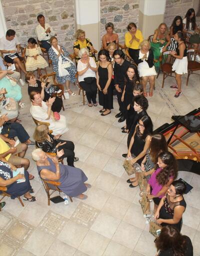 Cunda Adası'nda İdil Biret konseri