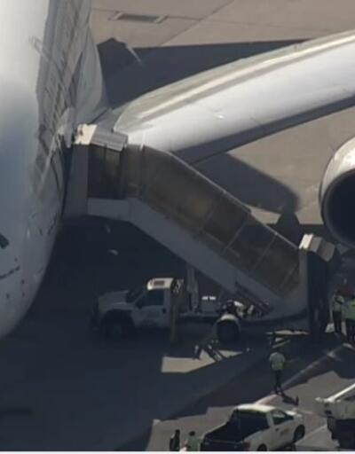 Son dakika... New York'ta büyük panik: Uçak karantinaya alındı