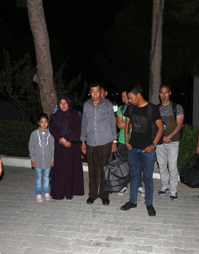 Zeytinlikte 9 kaçak yakalandı