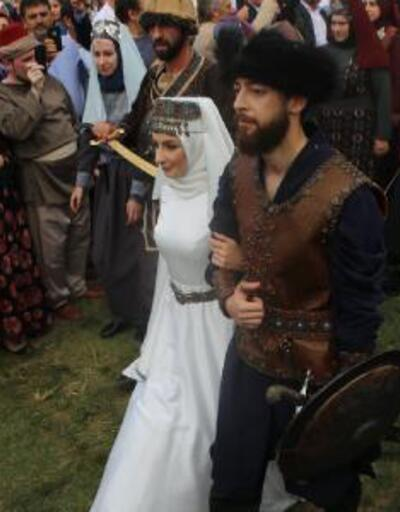 Eski bakan Recep Akdağ'ın oğluna 'Kayı Düğünü'