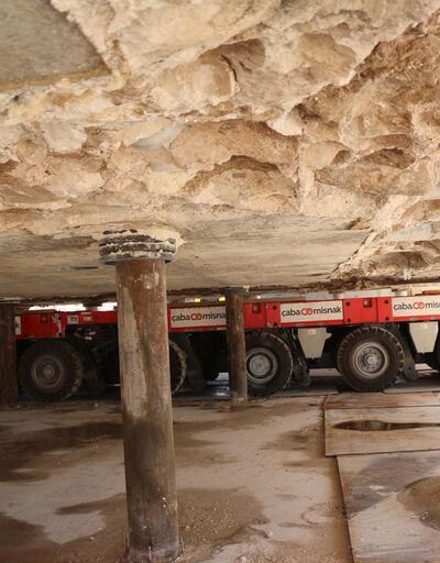 800 tonluk tarihi türbe Hasankeyf'ten taşınacak