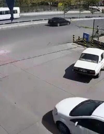 Başkent'te ehliyetsiz sürücü dehşeti