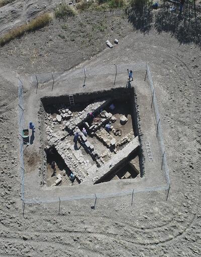 Kelkit'teki antik kentte 2 bin yıllık eserler gün yüzüne çıkıyor