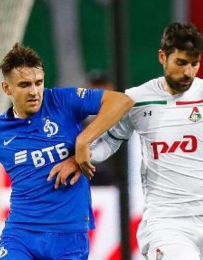 Lokomotiv Moskova, Dinamo Moskova'ya puan kaptırdı