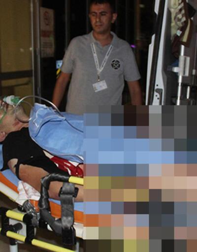 Konya'da kadın müşterinin kocası marketçiyi bıçakladı