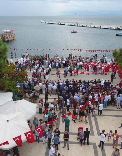 Atatürk'ün Sinop'a gelişinin 90'ıncı yılı kutlandı