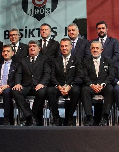 Beşiktaş'ın yeni yönetimi göreve başladı