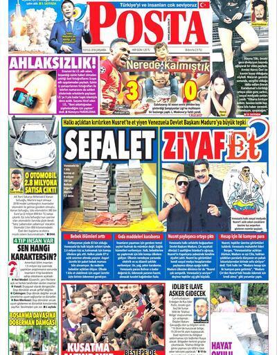 19 Eylül 2018 - Gazetelerin birinci sayfaları