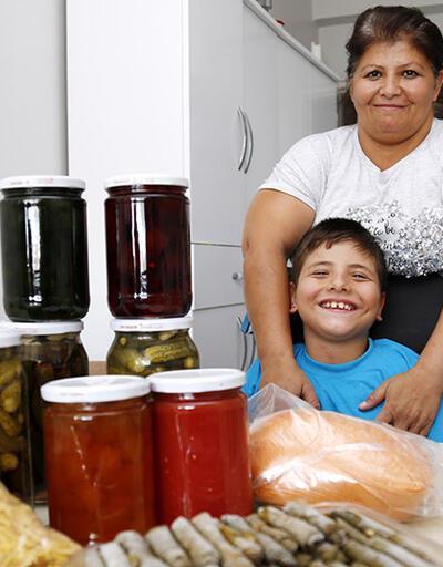 'Melekler Mutfağı'nın sarmaları dünyaya ulaştı