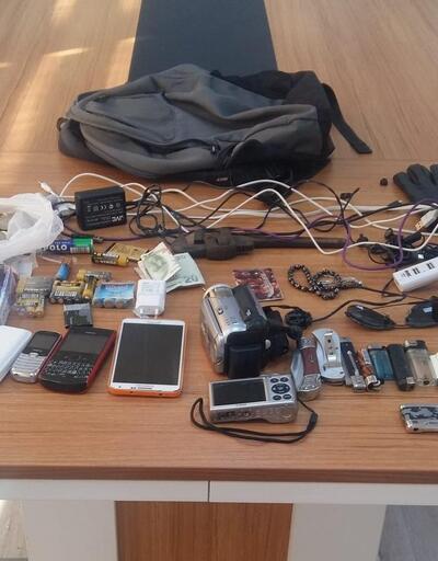 Amasya'da otomobili iterek çalan hırsızlık şüphelisi tutuklandı