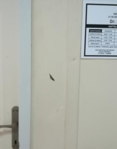 Keserle doktora saldırdı