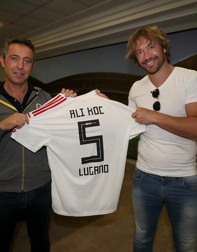 Diego Lugano Fenerbahçe için geldi
