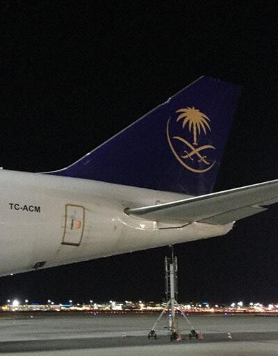 Türk kargo uçağının Frankfurt'a inerken flabı koptu