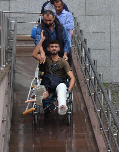 Uyuşturucu satıcısı cezaevine tekerlekli sandalyeyle götürüldü
