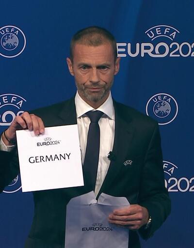UEFA, EURO 2024 kararını açıkladı
