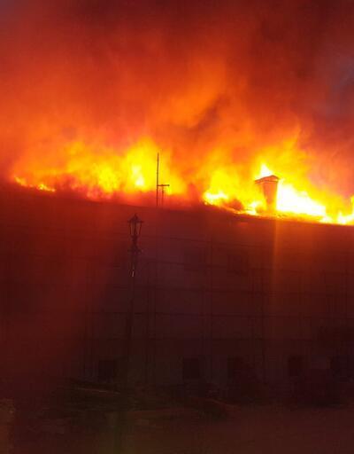 Konya'daki kız yurdunda yangın