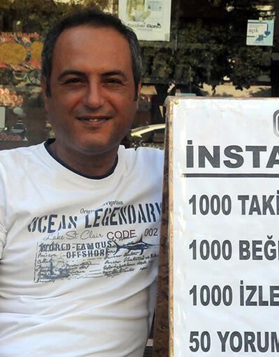 Sokakta takipçi ve beğeni satıyor