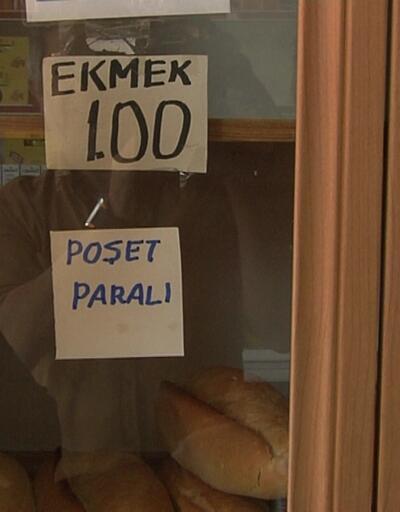 Ankara'da ekmek dolapları boş kaldı