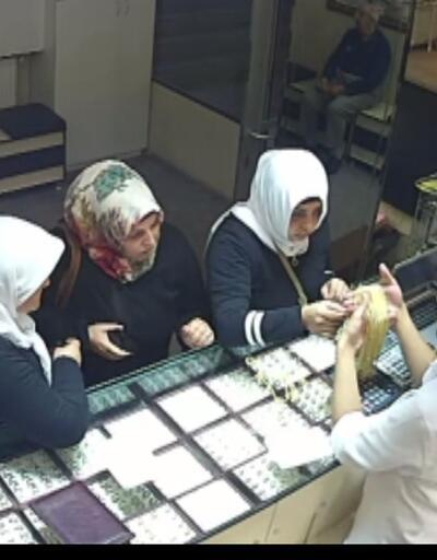 Kuyumcudan hırsızlık şüphelisi kadınlar tutuklandı